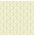 Beige quilted seamless pattern background vector image