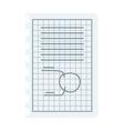 Graph sketch vector image