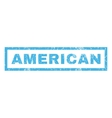 American Rubber Stamp vector image vector image