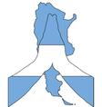 Argentinian pray vector image vector image