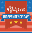 happy independence of america vector image