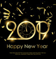 happy new year or christmas background vector image