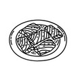 sarma icon doodle hand drawn or outline icon style vector image vector image