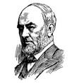 sir william mortimer clark vintage vector image vector image