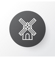 windmill icon symbol premium quality isolated vector image vector image