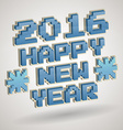 2016 new year design vector image vector image