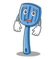 afraid spatula character cartoon style vector image vector image