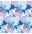 Blu and rosy color geometry modern motif
