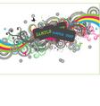 disco design vector image