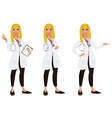 doctor - medical professional vector image