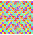 lgbt jigsaw seamless pattern vector image vector image