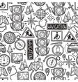 Navigation Seamless Pattern vector image