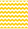 Tile chevron pattern with yellow and white zig zag vector image vector image