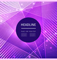 modern club music neon beats party template dance vector image