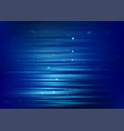 abstract blue background with light dot particles vector image vector image
