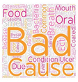BAD BREATH 1 text background wordcloud concept vector image vector image