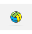 Beach Volleyball Ball can be used as Logo or Icon vector image