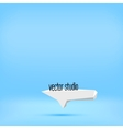 blue studio room backdrop background vector image vector image