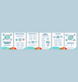 branding agency brochure template layout vector image