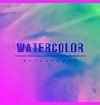 creative watercolor splash background vector image vector image
