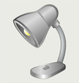 Desk lamp vector image vector image