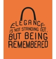 Fashion woman bag from quote vector image vector image
