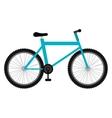 Mountain bike icon on white background vector image