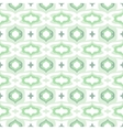 Pattern with Arabic motifs in cool mint green vector image