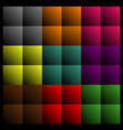 rectangles abstract background vector image vector image