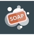 Soap with bubbles vector image