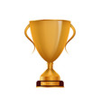 winner golden cup isolated icon vector image vector image