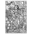 amazon woman warrior engraved fantasy vector image