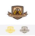 artisans logo design vector image vector image