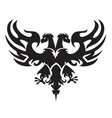 double-headed eagle vector image