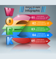 euro work icon business infographics vector image vector image