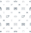 raster icons pattern seamless white background vector image vector image