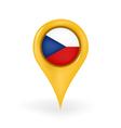 Location Czech Republic vector image