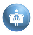 man at renghen icon simple style vector image vector image