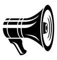 media loudspeaker icon simple style vector image
