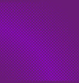 purple halftone diagonal square background vector image vector image