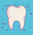 tooth dental care icon vector image