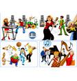 best musicians vector image vector image