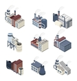 Building Industry Isometric vector image vector image