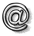 cartoon image of web icon website pictogram vector image