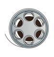 Film stripe reel on movie cinema negative