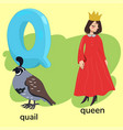 letter q children s alphabet