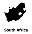 south africa map icon simple style vector image vector image