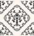 vintage curly background vector image