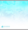 watercolor light blue background and texture vector image