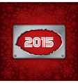 2015 new year celebrate card vector image vector image